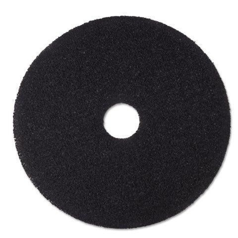 3M Low-Speed Stripper Floor Pad 7200 20-inch Black 5/Carton