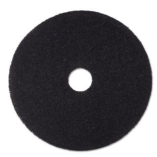 3M Low-Speed Stripper Floor Pad 7200 20-inch Black 5/Carton