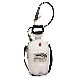 R. L. Flomaster Commercial-Grade Sprayer with Flat Fan Nozzle 3 Gallon Polyethylene White/Black