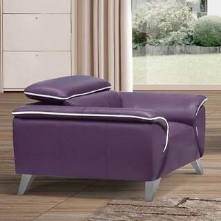 Luca Home Purple Chair