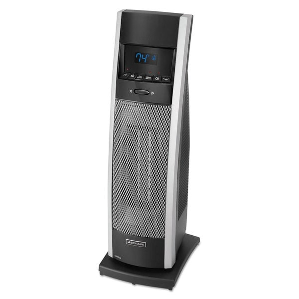 Shop Bionaire Ceramic Mini Tower Heater With Lcd Control