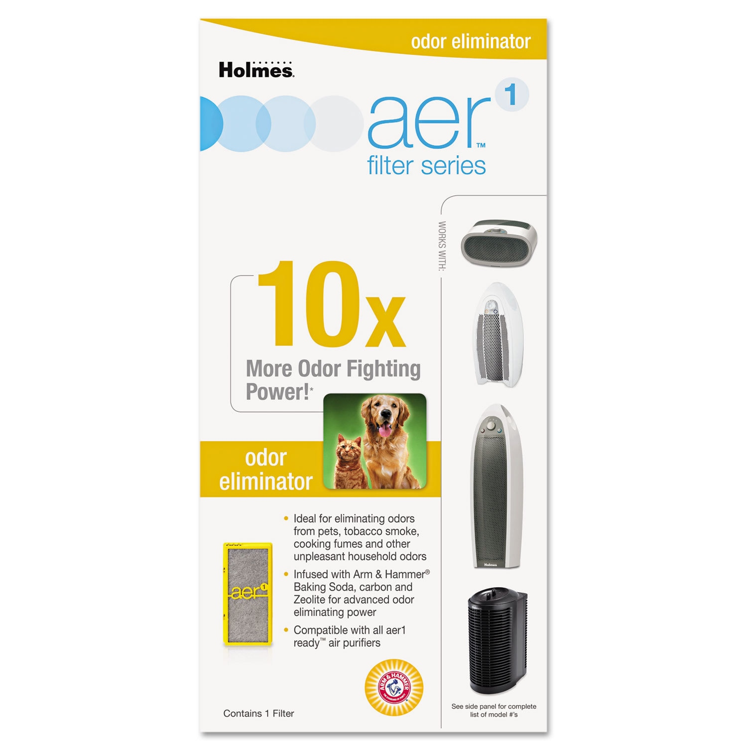 Holmes Solution Specific Filters Odors (Filter)