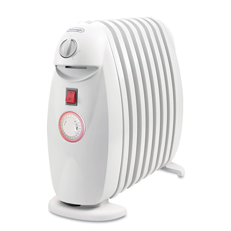 Delonghi TRN0812T Oil-Filled Radiator Heater (White)