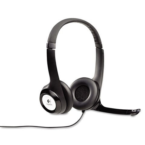 Logitech H390 USB Headset with Noise-Canceling Microphone
