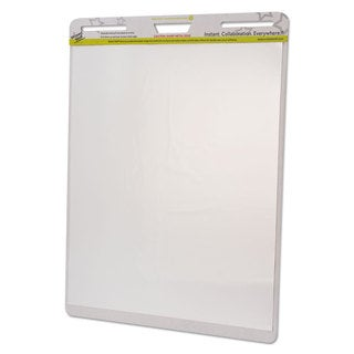 Wizard Wall Dry Erase Static-Cling Film Easel Pads 24 x 29 White 15 Sheets/Pad 2 Pads/Pack