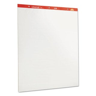 Universal Recycled Easel Pads, Unruled, 27 x 34, White, 50 Sheet 2/Carton