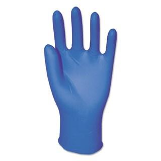 Boardwalk Disposable Powder-Free Nitrile Gloves Medium Blue 5 mil 1000/Carton