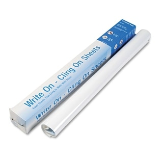 National Write On Cling On Easel Pad Unruled 27 x 34 White 35 Sheets