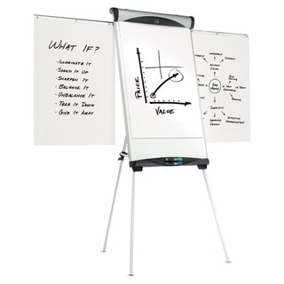 Quartet Euro Magnetic Presentation Easel 27 x 39 White