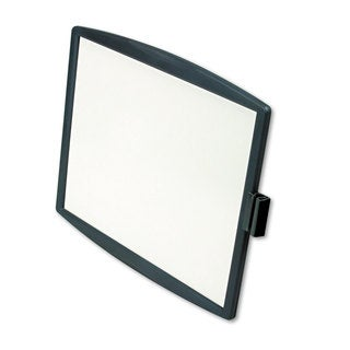 Fellowes Partition Additions Dry Erase Board 15 3/8 x 13 1/4 Dark Graphite Frame
