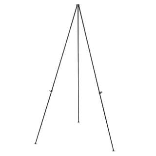MasterVision Instant Easel 61 1/2-inch Black Steel Lightweight