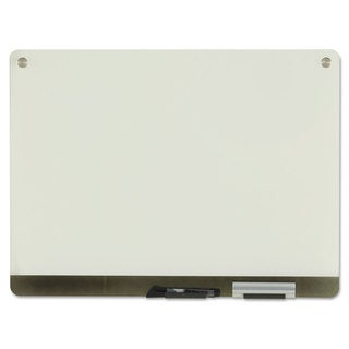 Iceberg Clarity Glass Personal Dry Erase Boards Ultra-White Backing 24 x 18