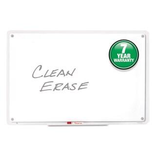 Quartet iQTotal Erase Board 49 x 32 White Clear Frame