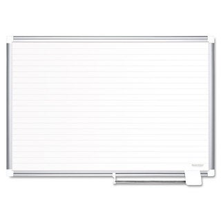 MasterVision Ruled Planning Board 48x36 White/Silver