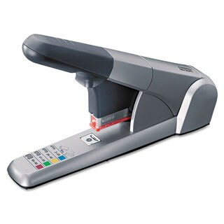 Rapid Heavy-Duty Cartridge Stapler 80-Sheet Capacity Silver