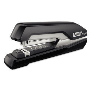 Rapid S17 SuperFlatClinch Full-Strip Stapler 30-Sheet Capacity Black