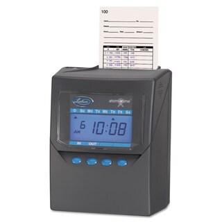 Lathem Time Totalizing Time Recorder Grey Electronic Automatic