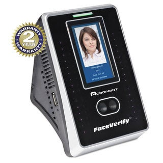 Acroprint timeQplus FaceVerify System 4 x 3 x 6 Black
