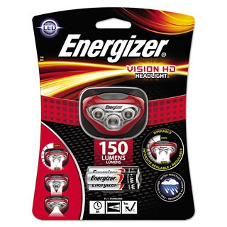 Energizer LED Headlight 3 AAA Red