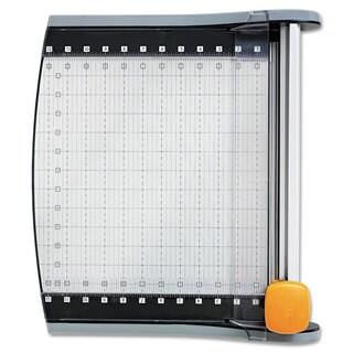 "Fiskars LED SureCut Rotary Trimmer, 12"" Cut Length"
