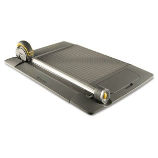 Westcott TrimAir Titanium 45MM Rotary Paper Trimmer, Metal Base, 15""