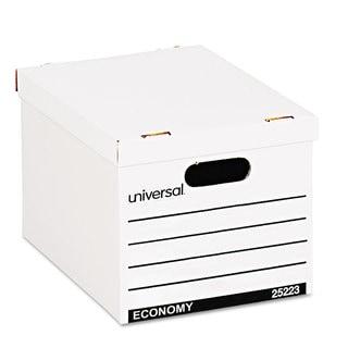 Universal Economy Boxes 12 x 15 x 9 7/8 White 10/Carton
