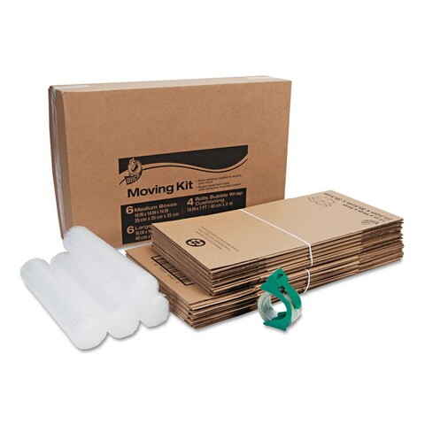 Duck Moving Kit Assorted Dimensions Assorted Colors 12/Pack