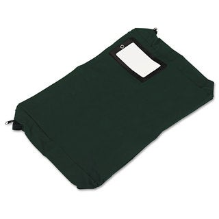 PM Company Expandable Dark Green Transit Sack 18-inch wide x 4-inch deep x 14h