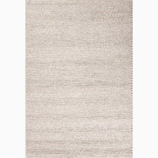 Hand Made Gray Wool Textured Rug 8x10 Free Shipping