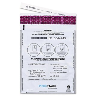 MMF Industries FREEZFraud Bags 9 x 12 White 100/Box