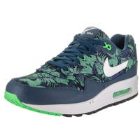 Nike Men's Air Max 1 GPX Green Textile Running Shoes