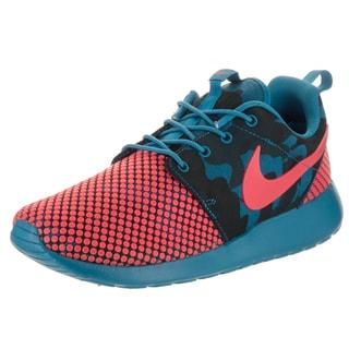 Nike Men's Roshe One Premium Plus Blue Textile Running Shoe