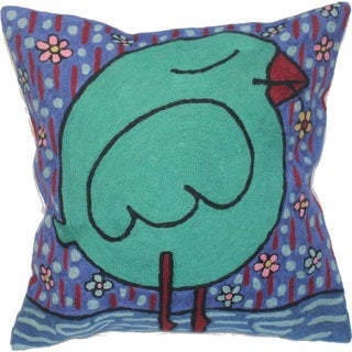 Romantic Bird Pillow (India)