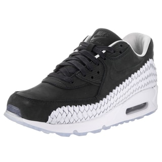 Nike Men's Air Max 90 Black Woven Casual Shoes