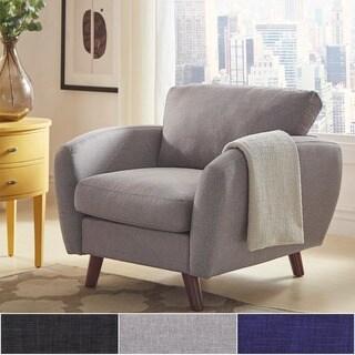 Katryn Linen Fabric Chair iNSPIRE Q Modern