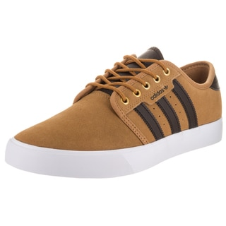 Adidas Men's Seeley Brown Suede Skate Shoes