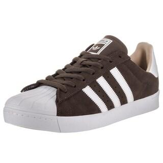 Adidas Men's Superstar Vulc Adv Brown Suede Skate Shoes