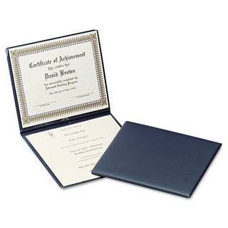 Oxford Diploma Cover 12 1/2 x 10 1/2 Navy