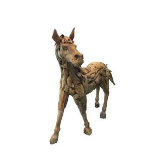 Handmade D-Art Drift Wood Horse Statue (Indonesia)