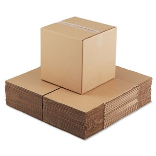 General Supply Brown Corrugated - Cubed Fixed-Depth Shipping Boxes 14l x 14-inch wide x 14h 25/Bundle