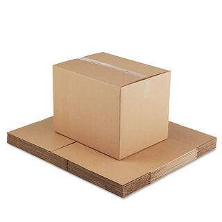 General Supply Brown Corrugated - Fixed-Depth Shipping Boxes 24-inch long x 18-inch wide x 18-inch high 10/Bundle