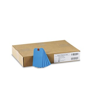 Avery Unstrung Shipping Tags Paper 4 3/4 x 2 3/8 Blue 1 000/Box