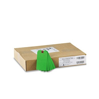 Avery Unstrung Shipping Tags Paper 4 3/4 x 2 3/8 Green 1,000/Box