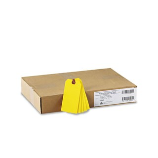 Avery Unstrung Shipping Tags Paper 4 3/4 x 2 3/8 Yellow 1 000/Box