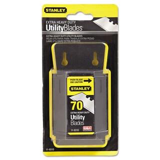 Stanley Tools Extra Heavy-Duty Utility-Knife Blade Bulk