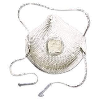 Moldex 2700N95 Series HandyStrap Respirator Half-Face Mask Medium/Large 10/Box