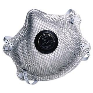 Moldex 2400N95 Series Particulate Respirator Half-Face Mask Medium/Large 10/Box