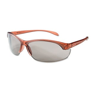 Uvex by Honeywell Women's Eyewear Dusty Rose Frame TSR-Grey Anti-Scratch Lens One Size 10/Box