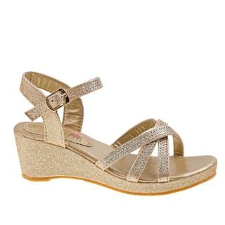 Petalia Girls' Wedges