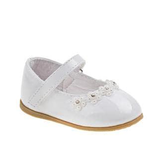 Josmo Infant White Dress Shoes